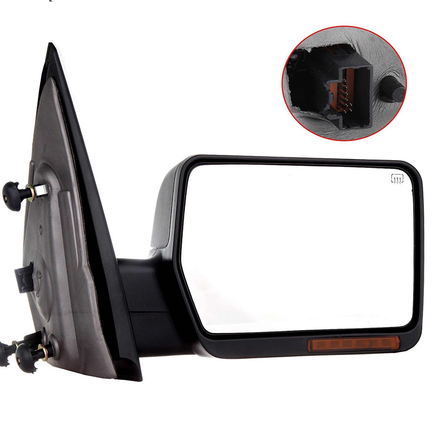 Get Quotations  C B Scitoo Right Door Mirror For   Ford F  Passenger Side View Mirror