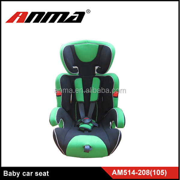 green hot sale E-mark certification child booster seat child car seat