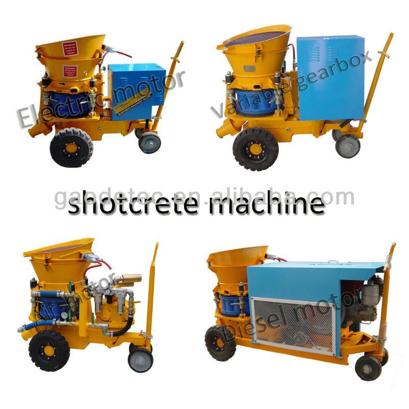 Gz 3e Electric Small Shotcrete Machine For Swimming Pool