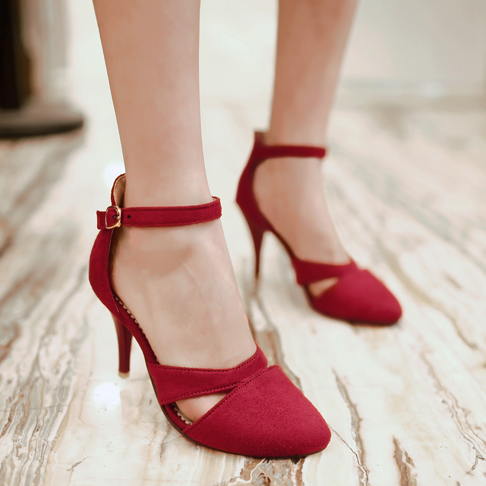 b59ecb95c6 High Heel Shoe Sale Suede Rose Pumps