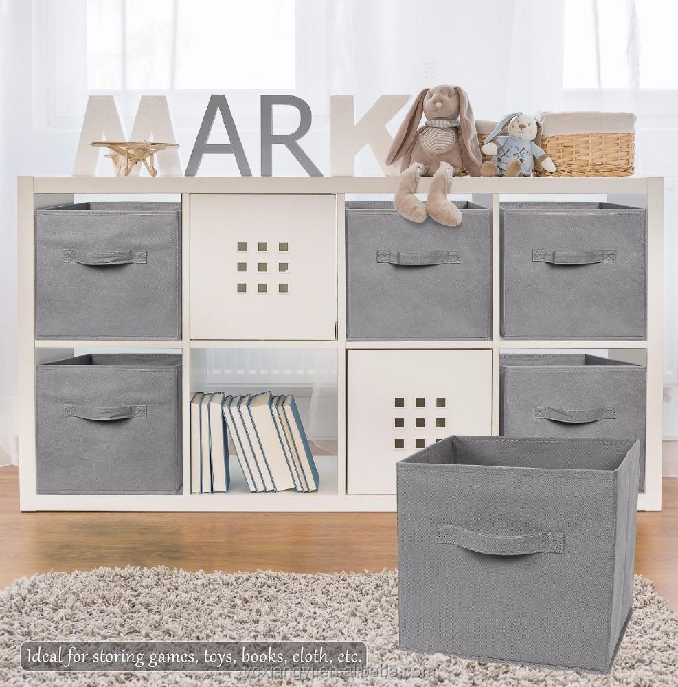 walmart tela plegable cubo de almacenamiento cesta. Black Bedroom Furniture Sets. Home Design Ideas