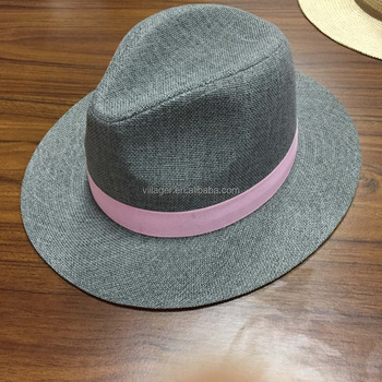 71ce1caf7a8 Paper Straw Fedora Woman Hat Wholesale - Buy Straw Hat