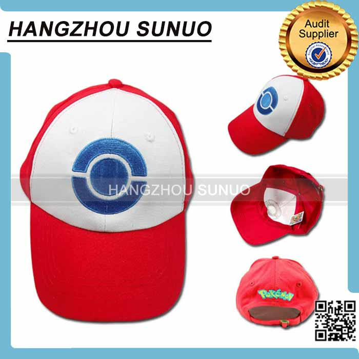 Wholesale Pokemon Go Cartoon Hat Cap Hat Cosplay Pokemon Hat