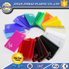 jinbao best price high gloss 1.22x1.83m unti-uv clear color acrylic sheet