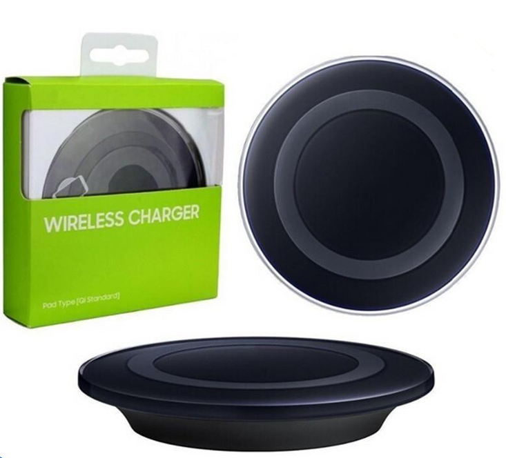 Hottest Mobile Phone Fast charging Pad Battery Charger Plate S6 Portable QI Wireless Charger for Samsung for iPhone