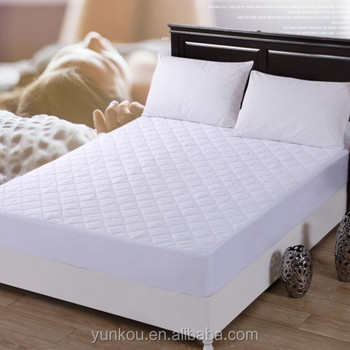 Polyester Thick Mattress Protector Quilted Fitted Bed Sheets