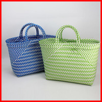 Colored female tote promotional beach bag