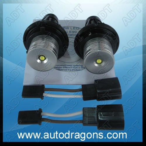promoting 3W high power LED Angel Eyes Headlight for BMW E39 E60 E61 E63 E65 E83 e53