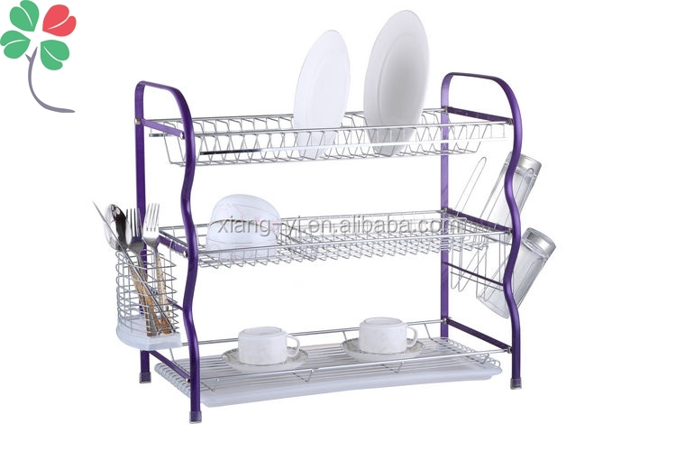 Xiangyi 3 Tier Kitchen Dish Rack Buy 3 Tier Drying Rack Kitchen