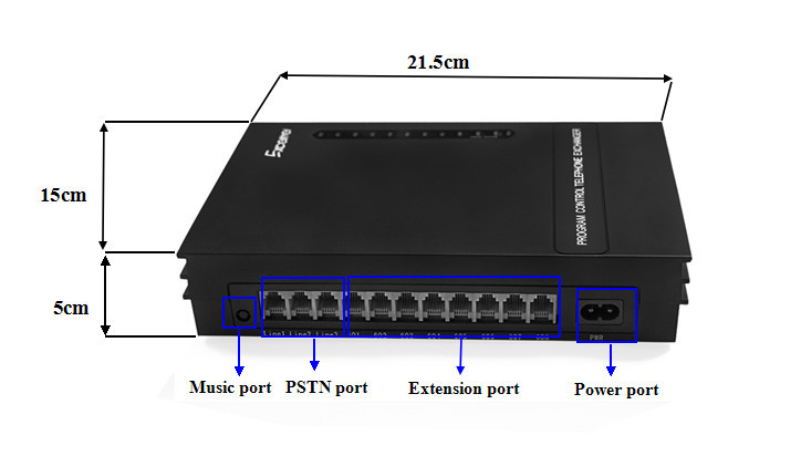 Excelltel Office Intercom Pabx Pbx Cheap Price Md206
