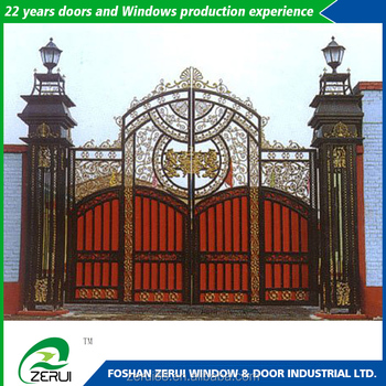 House Main Iron Square Tube Gate Designs High Demand Export Products
