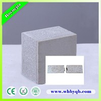Energy-saving fireproof wall slab for partition wall system