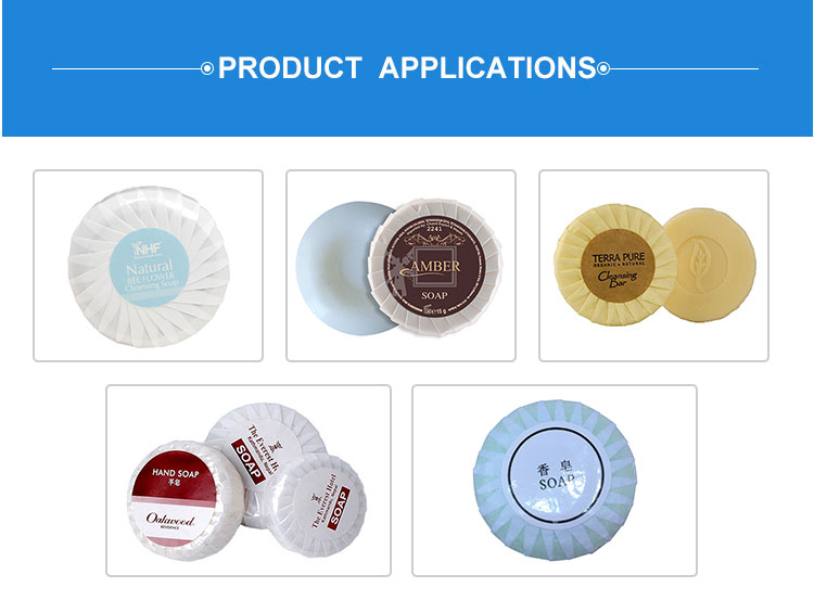 Manual Round Bar Soap Pleat Type Packing Wrapping Machine