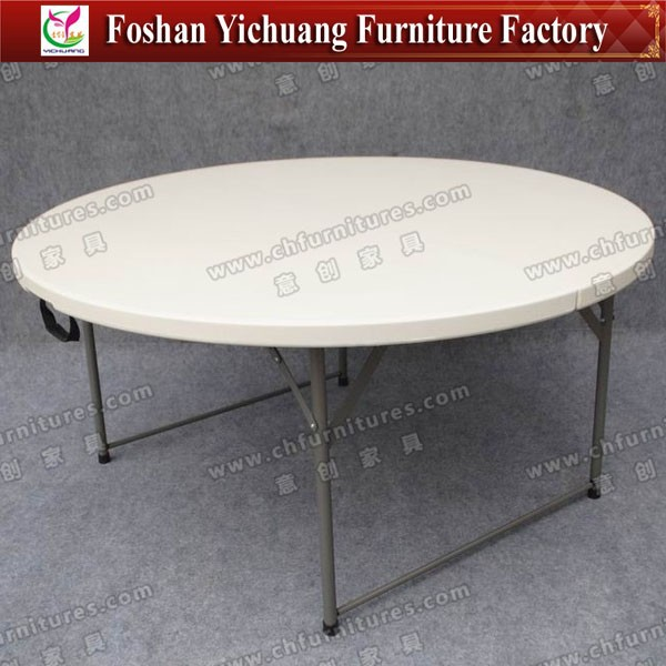 Half Plastic Folding Round Table for Wedding YC-T09-02