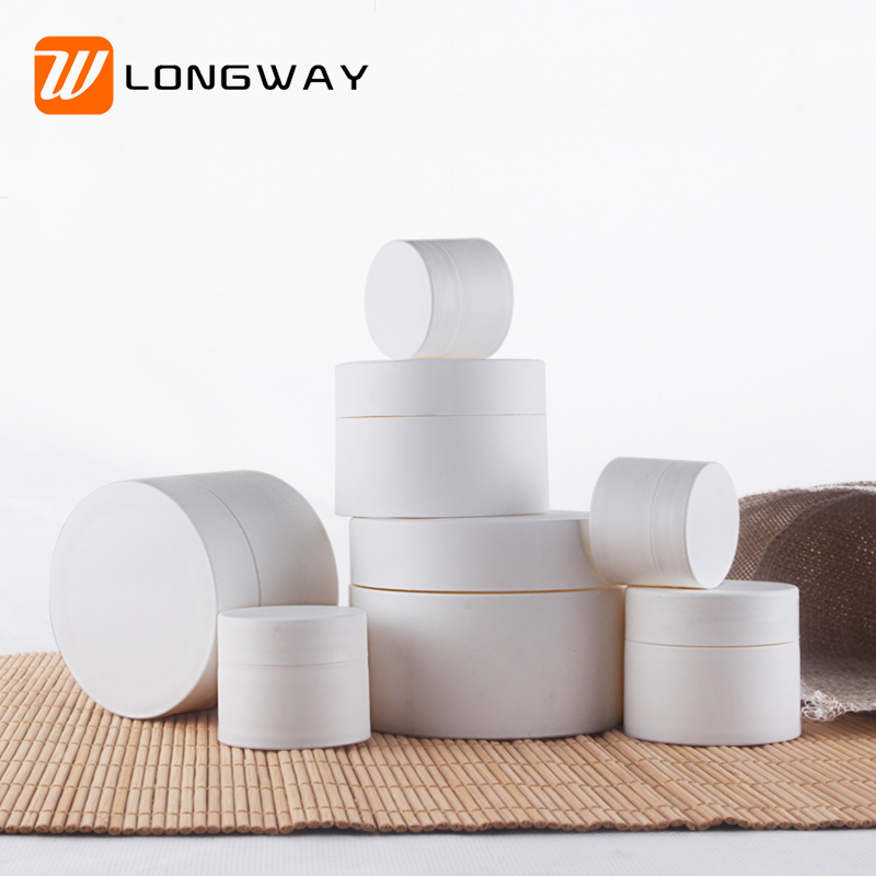 3g 5g 10g 15g 30g 50g Plastic Frosted Empty Cream Container Jars for Body Lotion Sample Cream
