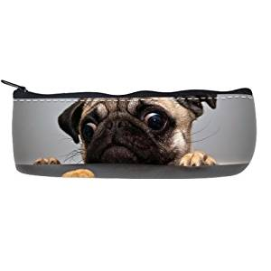 Funny Dog Customized Pencilcase Printing Twin Sides
