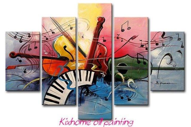 chanteurs pop guitare lecteur 100 peint la main peintures l 39 huile d 39 instruments de musique. Black Bedroom Furniture Sets. Home Design Ideas