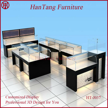 China Manufacturer Shopping Mall Glass Jewelry Display Cabinets ...