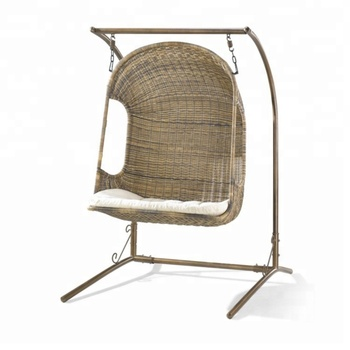 Factory Best Price Top Hanging Basket Chair India With Stand