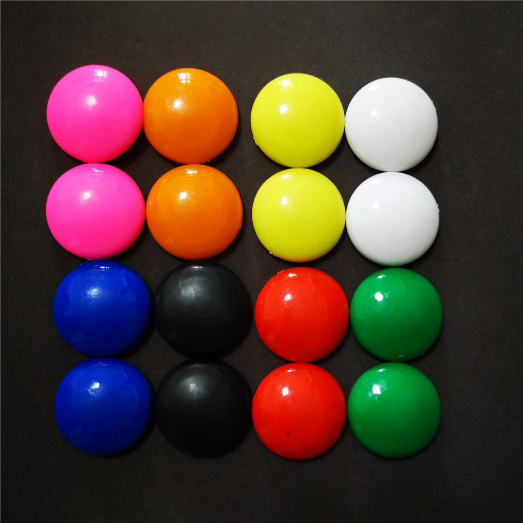 28mm plastic Round Whiteboard Magnetic Button