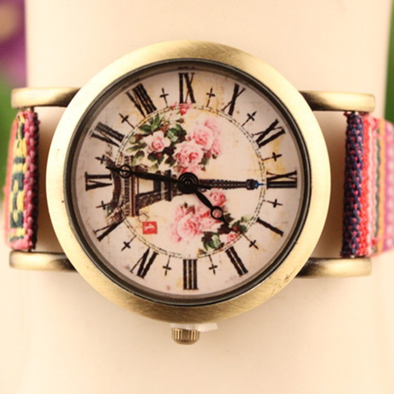 Hot Sale High Quality Women Dress Watches Fashion Pylon Ladies Watch Glass Mirror Quartz Hand Watch