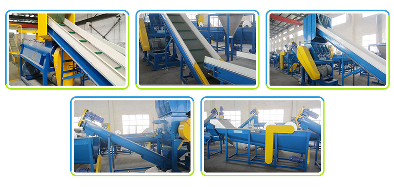 Cheap Pet Bottle Crushing Washing Drying Recycling Machine
