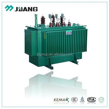 11kv 100kva Amorphous Core Step Down Electrical Transformer Oil ...