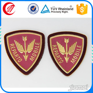 high quality soft metal Army Uniform Blazer Badges