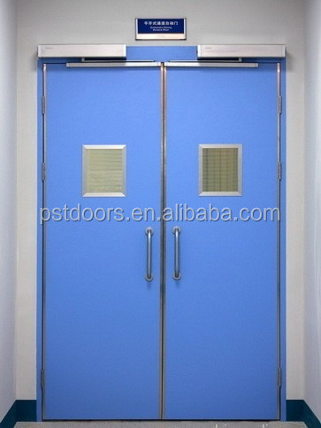China hospital and laboratory door