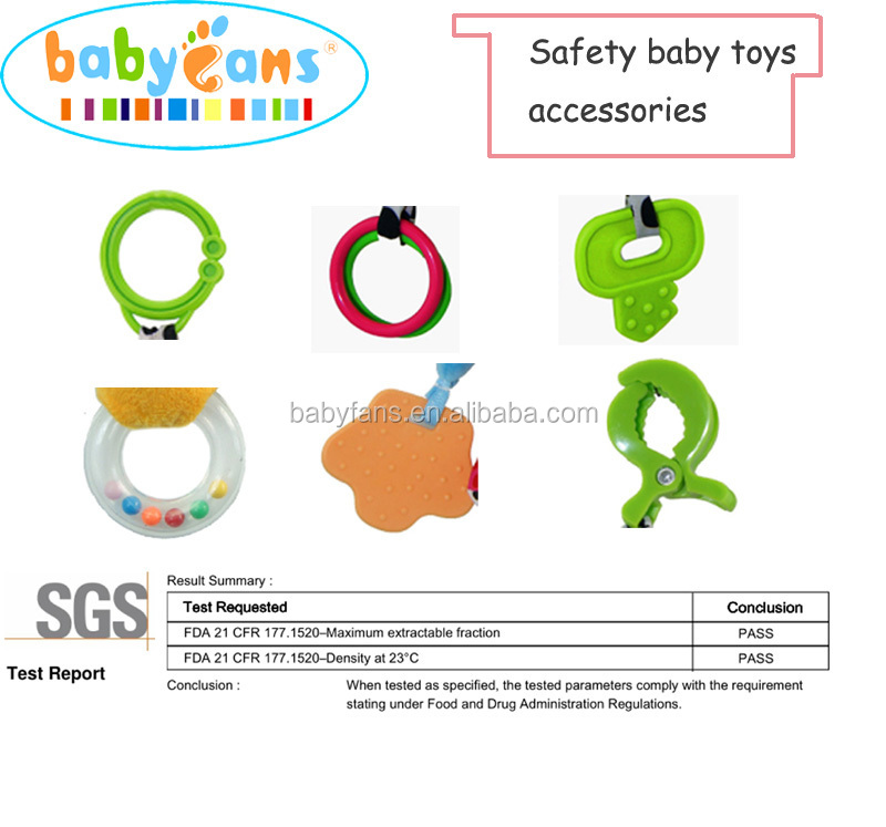 Baby Cot Mobile Parts Educational Toys Music Hanging Teething Toy ...