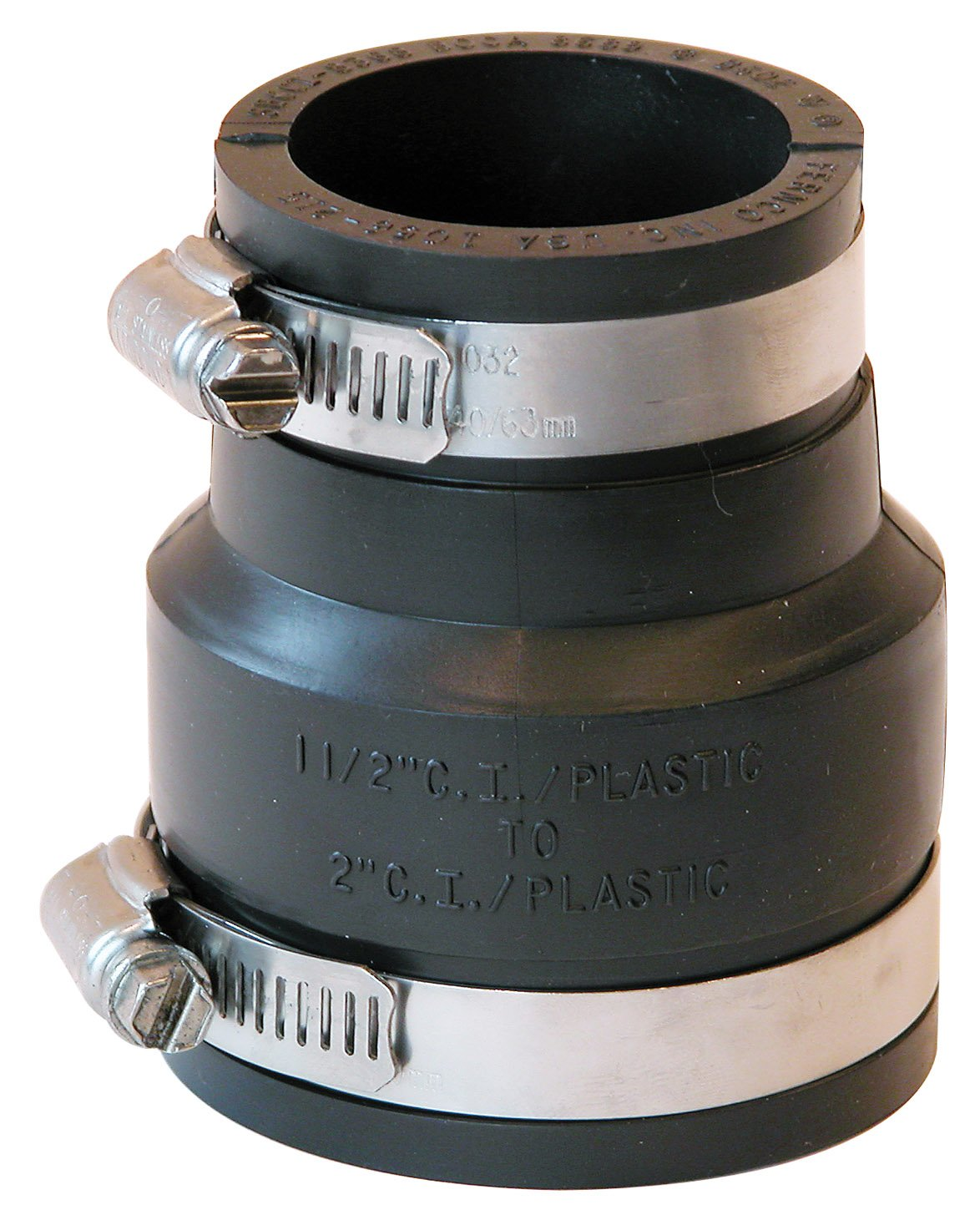Fernco Inc. P1056-215 2-Inch by 1-1/2-Inch Stock Coupling
