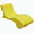 Outdoor garden furniture sling sun lounger plastic beach lounge chairs patio swimming pool sun lounge chair