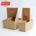 Cup Holder Hot Sale Takeaway Coffee Paper Cup Holder 4 Cardboard
