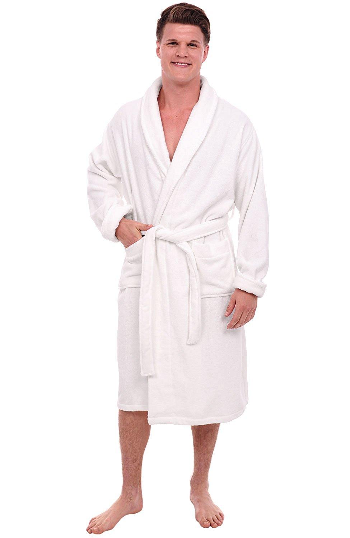 a7c32f92f9 Get Quotations · Alexander Del Rossa Mens Turkish Terry Cloth Robe