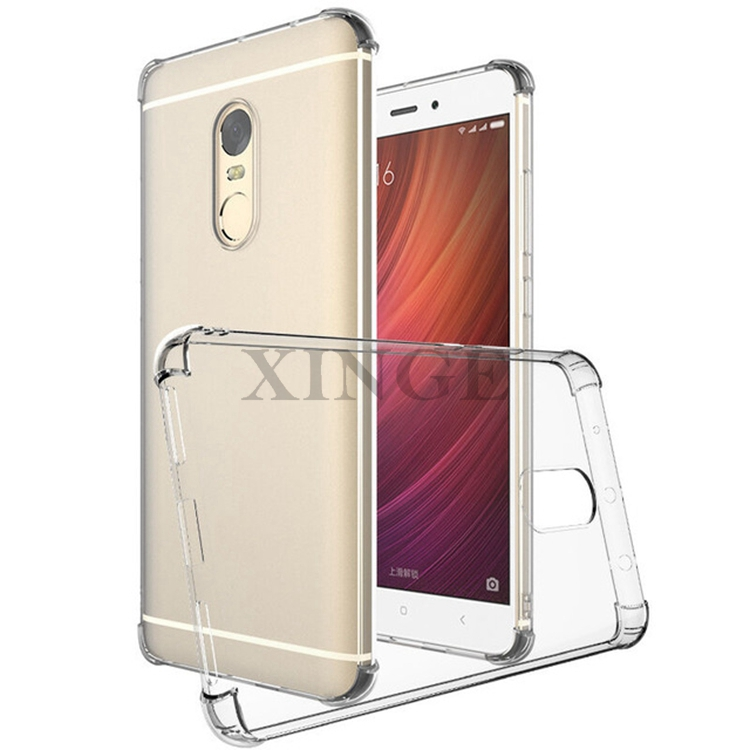 C464 Wholesale Price Top Quality Tpu Case For Redmi Note 4 Back