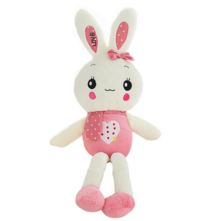 Wholesale Plush Cute Longleg Red Rabbit Toys