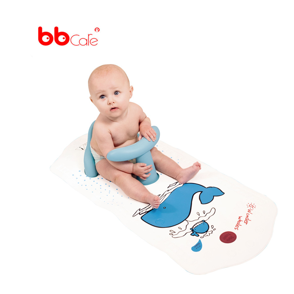 Bbcare Baby Safety Bath Seat With Extra Long Non Slip Bath