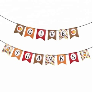 Thanksgiving Party Supplies Thanksgiving Banner Decorations