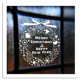 Home decoration christmas window stickers