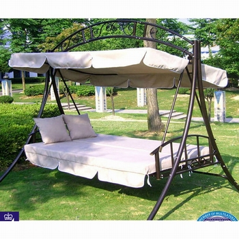 luxurious two seat swing chair garden patio swing outdoor swing chair with canopy - Patio Swing Chair