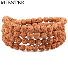 Wholesale vajra bodhi wood bead wrist mala stretch bracelet yoga meditation bracelet for men