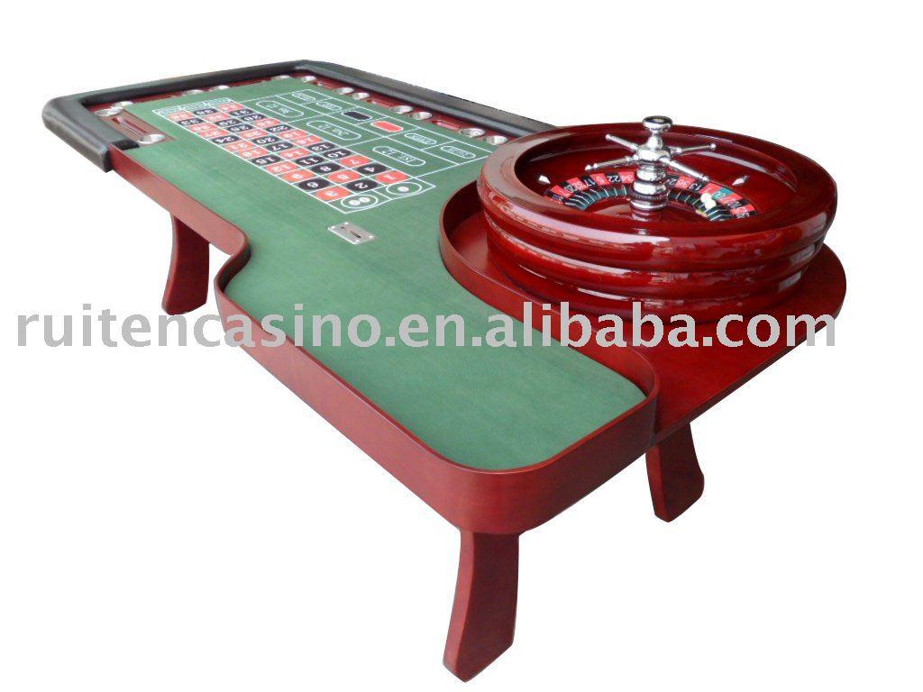 Roulette Tisch Bauen