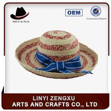 Strict quality supervision fashion paper braid braided cheap butterfly straw hat