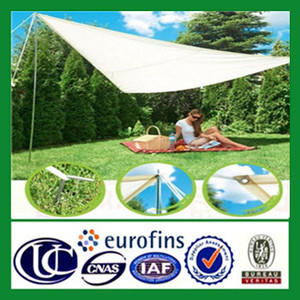 canopy triangle shade sail fabric with grommet