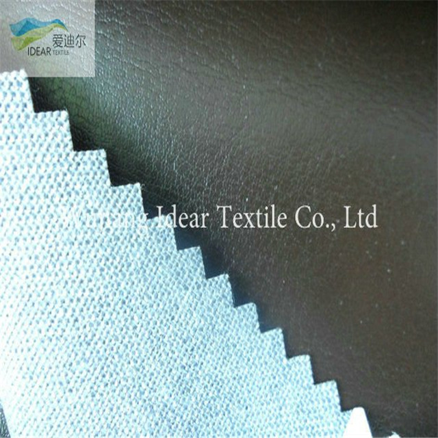 Embossed PU Leather/Upholstery Fabric/Faux PU Leather Fabric