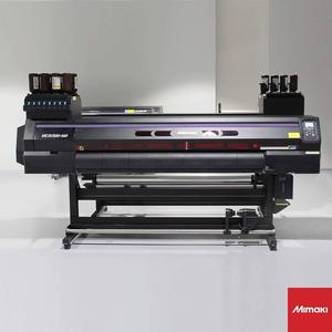 3.2m/126inch Mimaki UCJV300-160 UV Roll To Roll Printer And Cutter With 4Pcs Gen5 Heads