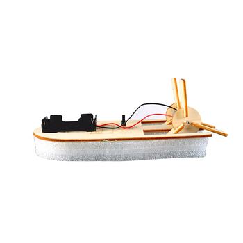 2019 Diy Wooden Toys Educational,Battery Operated Wood Toy Boat