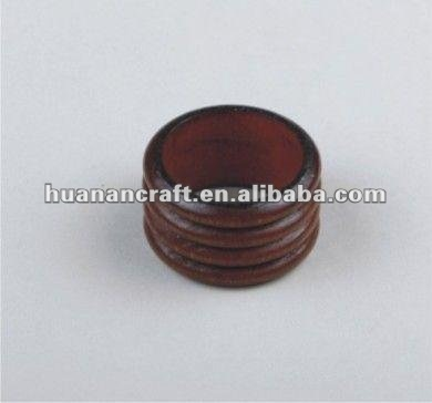since 1993 factory wooden napkin ring table decoration restaurant high quality wedding stage decoration