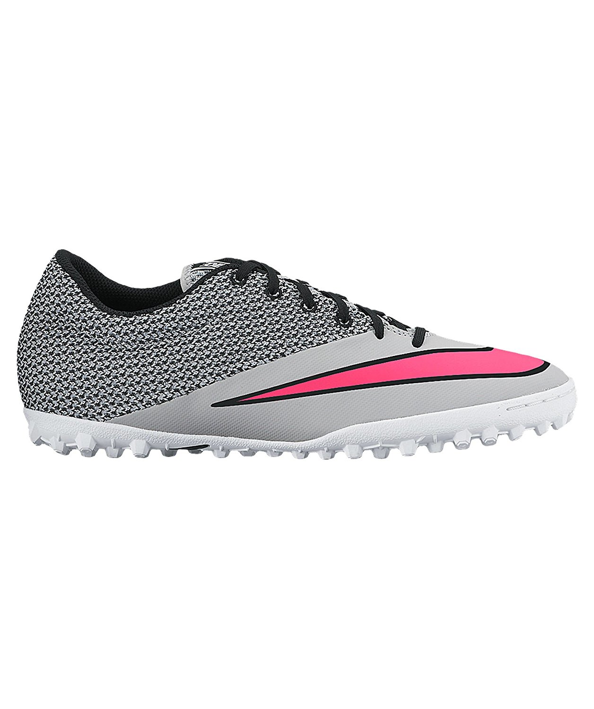 Nike Mercurial X Pro TF - Wolf Grey/Hyper Pink/White/Black - SCCRX 12.5