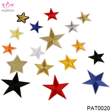 Custom Design Iron On Cloth Patch Embroidered Star Patches